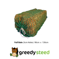 Greedy Steed 3cm Full Bale Slowfeed Haynet at Equigear