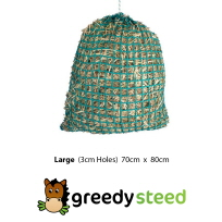 Greedy Steed 3cm Large Haynet at Equigear
