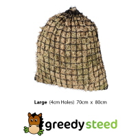 Greedy Steed 4cm Large Haynet at Equigear